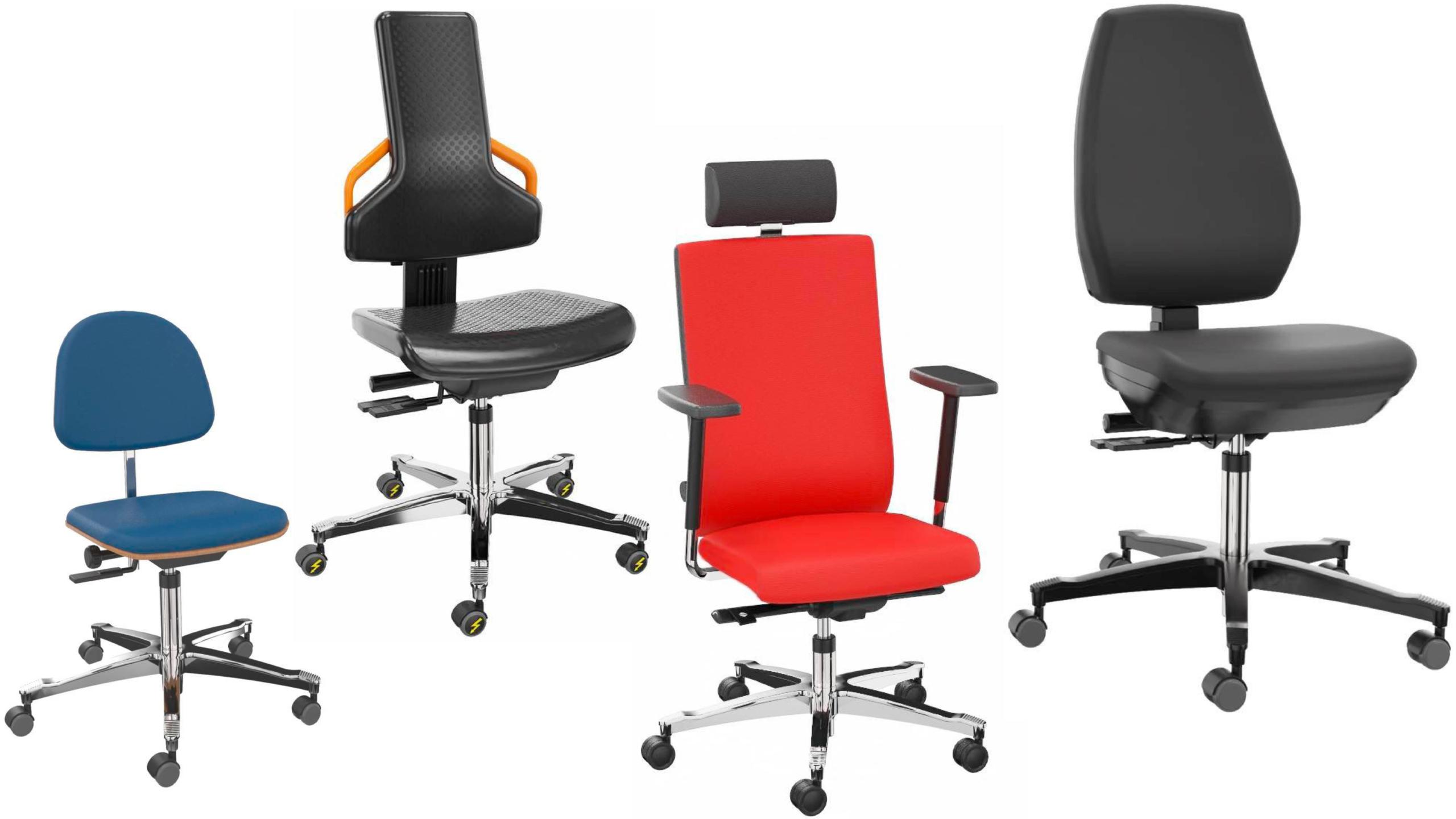 Fire arbejdsstole fra DENIOS
