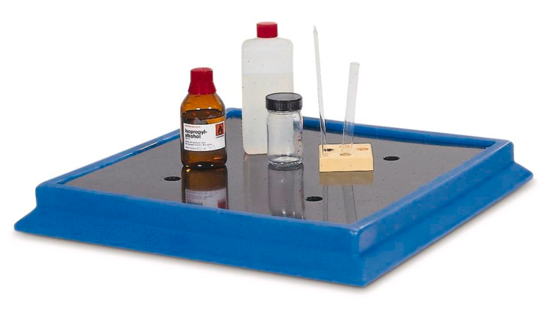 Laboratoriekar af polyethylen