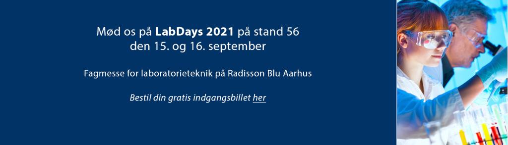 Mød Drifton på LabDays messen i Aarhus