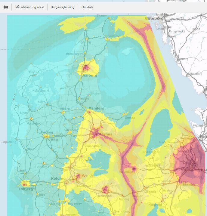Luftforurening Kortlagt Se Om Du Er Ramt