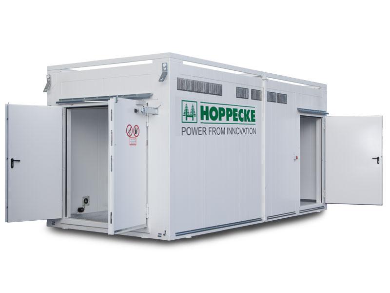 Teknikcontainer til brændselscelleteknologi